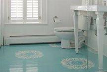 floors painted