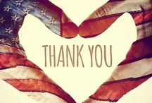 Freedom is Never Free / To those who have put their lives on the line for our nation, thank you for your service!