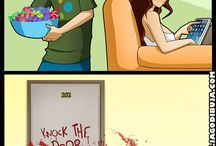 Living with hipster girl and gamer girl