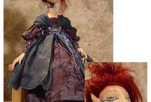 Barbara Schoenoff - Cloth Doll Making (Sewing) Patterns