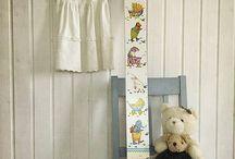 Detské metre /growth meter / Handmade growth meter