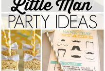 Little Man Party Ideas / Little Man party ideas