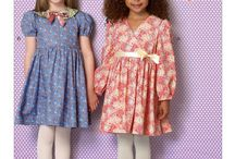 Sewing Patterns I Own - Girls