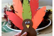 Children Thanksgiving Crafts / Find some of our favorite DIY Thanksgiving craft ideas for kids. Your children are sure to have fun crafting these decorations.
