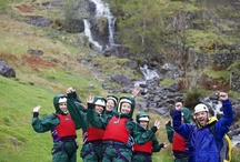 Gorge Scrambling / Gorge walking, Ghyll scrambling and canyoning in the Lake District with Distant HOrizons