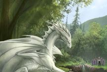 Dragons , phoenix , and monsters :3
