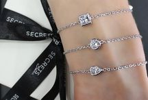 Collection: Evoke / Empower the women around you! Secrets new Evoke Collection is an array of beautiful sterling silver fine jewellery bracelets symbolising moments of Gratitude, Courage, Faith, Hope and Happiness.  / by Secrets Shhh