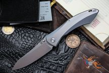 CKF Garza Knife / Garza Knife by Custom Knife Factory Designer: Anton Malyshev http://fromrussiawithknives.com/category/customknifefactory/malyshev-anton/elf/