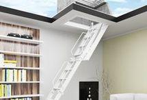 Escaleras de ático plegables