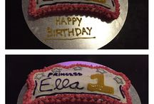 Ella's first birthday party