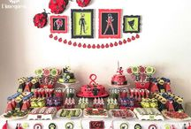 how to set a cake table