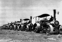 Heuke Steam Ploughs
