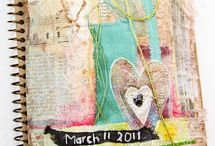Postcards from the Edge / Art journal