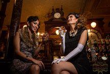Gatsby Glam / Images from Le Rouge De La Vie's photoshoot