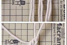 plecionki ze sznurka koszyczek