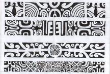 maori polinesiche tatoos