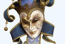 Клоун маски карнавал