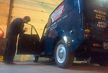 Down at the museum / Our helping hand at the British Commercial Vehicle Museum in Leyland Lancashire