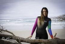 Custom wetsuits