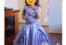 Sofia the First Party / Princess Sofia the First party inspiration. DIY - Crafting, Baking, Sewing and Party styling