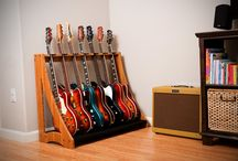 rangement guitare