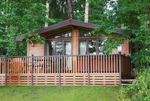Luxury log cabins / Luxury holiday cabins in North Norfolk