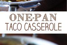 Casseroles & One Pot Meals