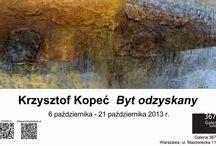 Byt odzyskany - Krzysztof Kopeć - wystawa w 3678 Gallery / Byt odzyskany - Krzysztof Kopeć - wystawa malarstwa w 3678 Gallery 6-21.10.2013, ul. Mazowiecka 11a, Warszawa. http://artimperium.pl/wiadomosci/pokaz/64,byt-odzyskany-krzysztof-kopec-wystawa-w-3678-gallery#.UlKe21C-2So