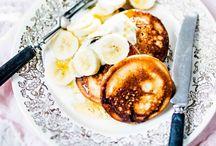 Banana pan cakes