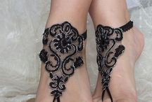 Diseños p/ pies y manos