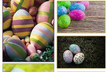 huevos de pascua / by Albena Vasileva Tsankova
