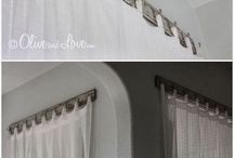 Curtain hanging ideas