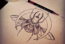 Tatuaże i projekty