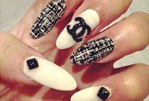 Celebrety inspired nails