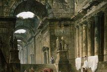 ''Ruins ''in paintings