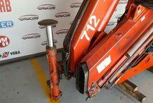 Used Knuckle boom crane Ferrari F712 A5 / Knuckle Boom Loader Cranes for Sale