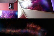 sky ceiling / led rgb sky ceiling