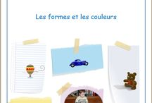 Les formes et les couleurs / Jeux en chemise sur les formes et les couleurs, par l'Association Carpe Diem