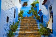 cidade azul marrocos