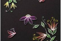 Quilling / Quilled cards / by Vibeke Gravgaard