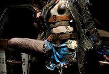 dark, post apocalyptic, cyberpunk blabla fashion