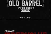 Old Monk Fonts
