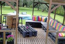 Landscaping and patios