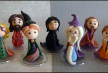 Harry potter paper clay