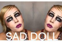 Halloween Makeup / Fun Makeup-Focused Halloween Makeup