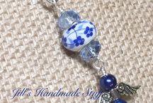 handbag charms / keyrings and bookmarks