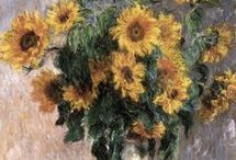 Monet: Napraforgók
