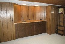 Wood Paneled Basement Makeover / by Gambling Belle