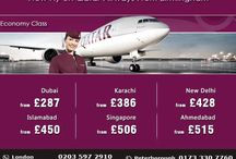 Qatar Airways from Birmingham