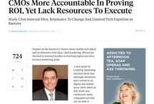 CMOs & Mobile ROI / Great article from Ad Age about marketing executives' quest for metrics to determine returns on mobile & digital investments!